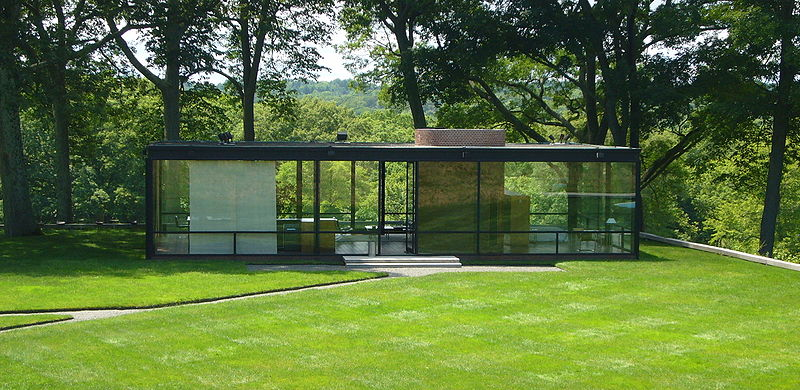 The Glass House, National Trust for Historic Preservation