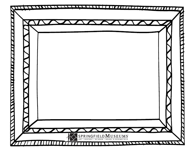 Blank Coloring Page