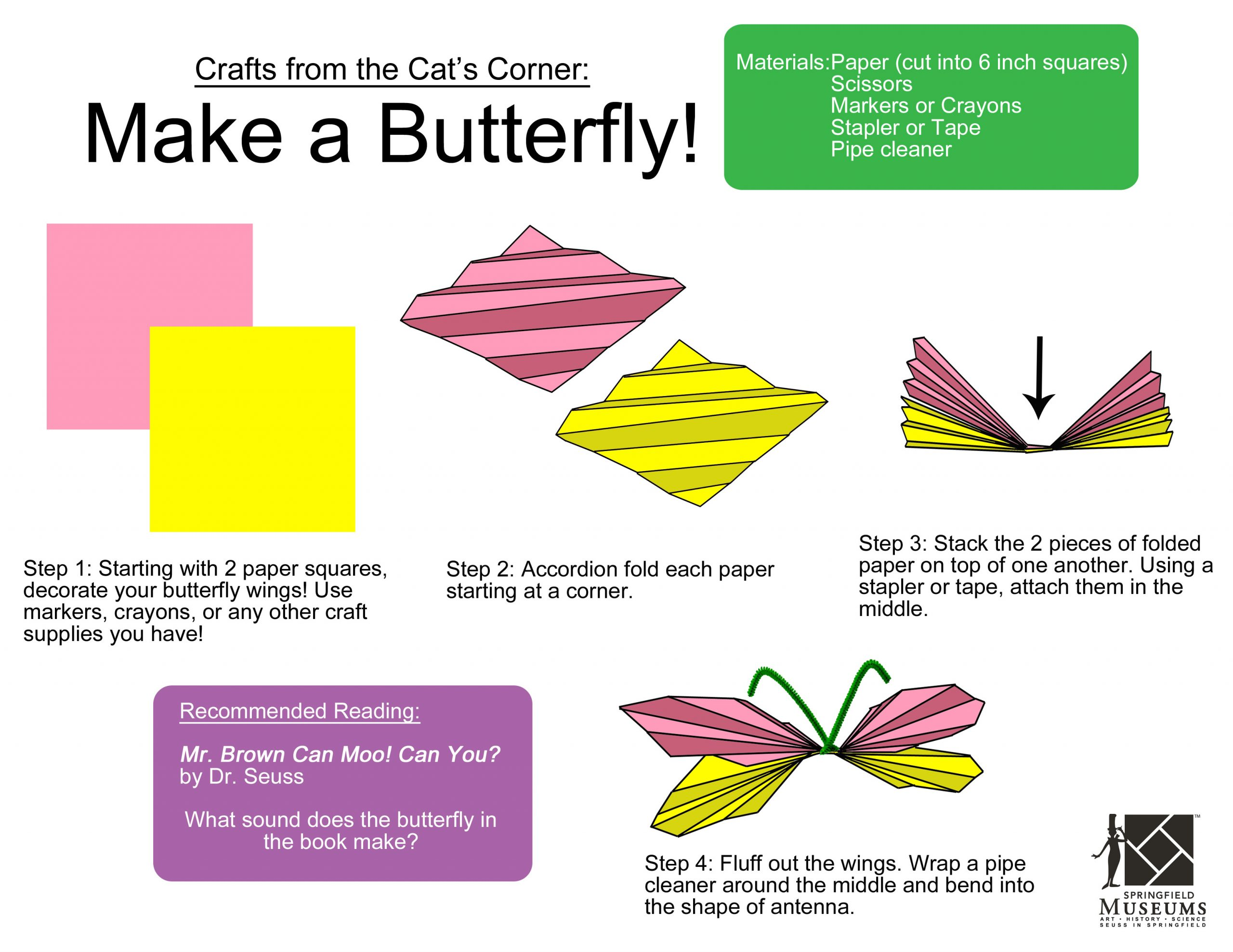 Make a Butterfly Activity