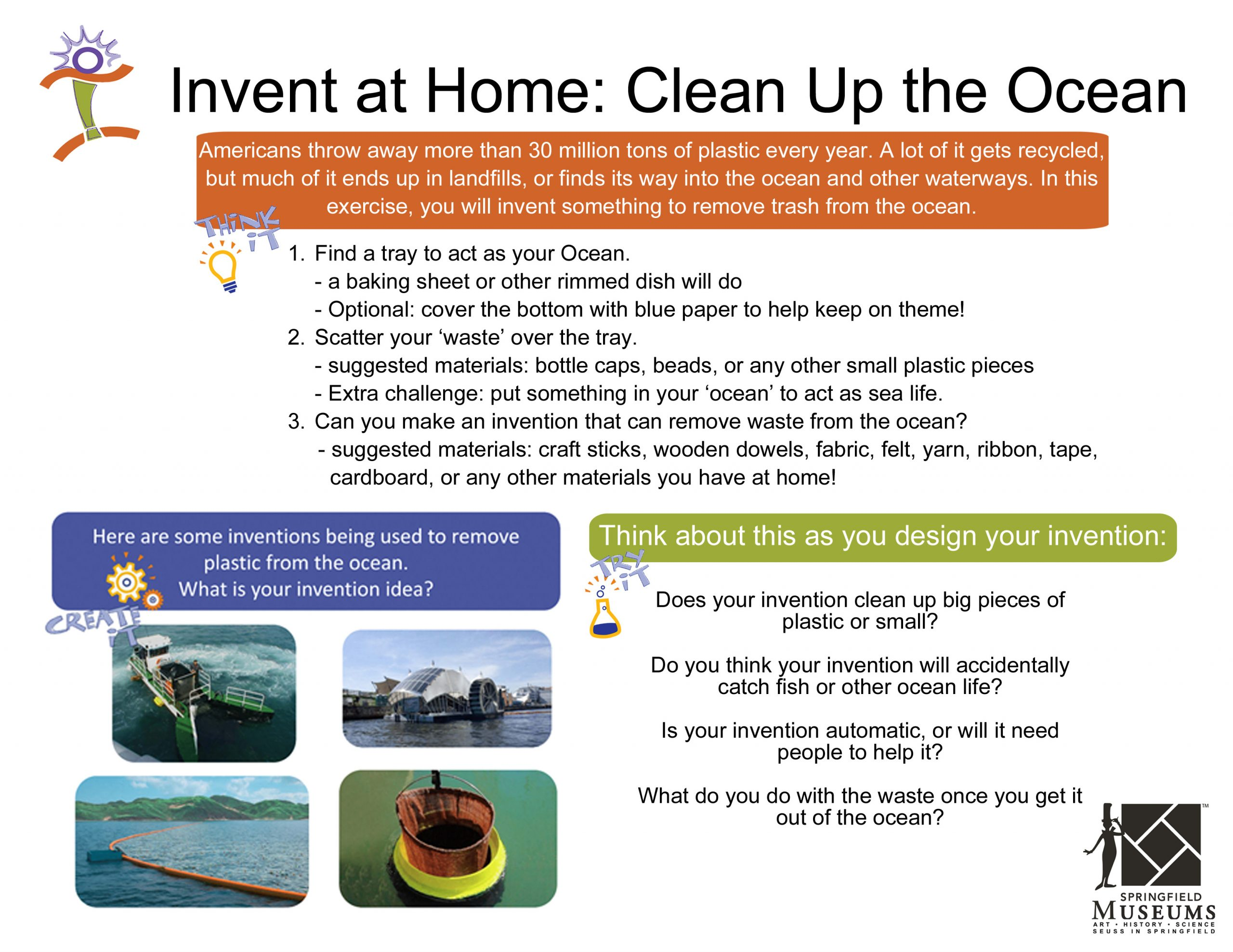 Invent at Home: Clean Up the Ocean