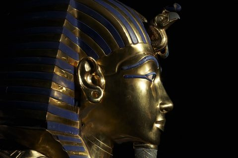 Tutankhamen's golden mask
