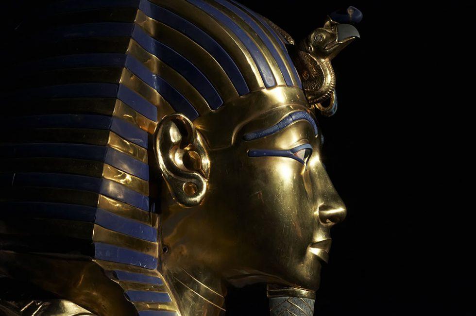 Tutankhamen's golden mask