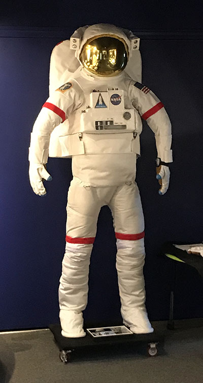 Replica Space Suit