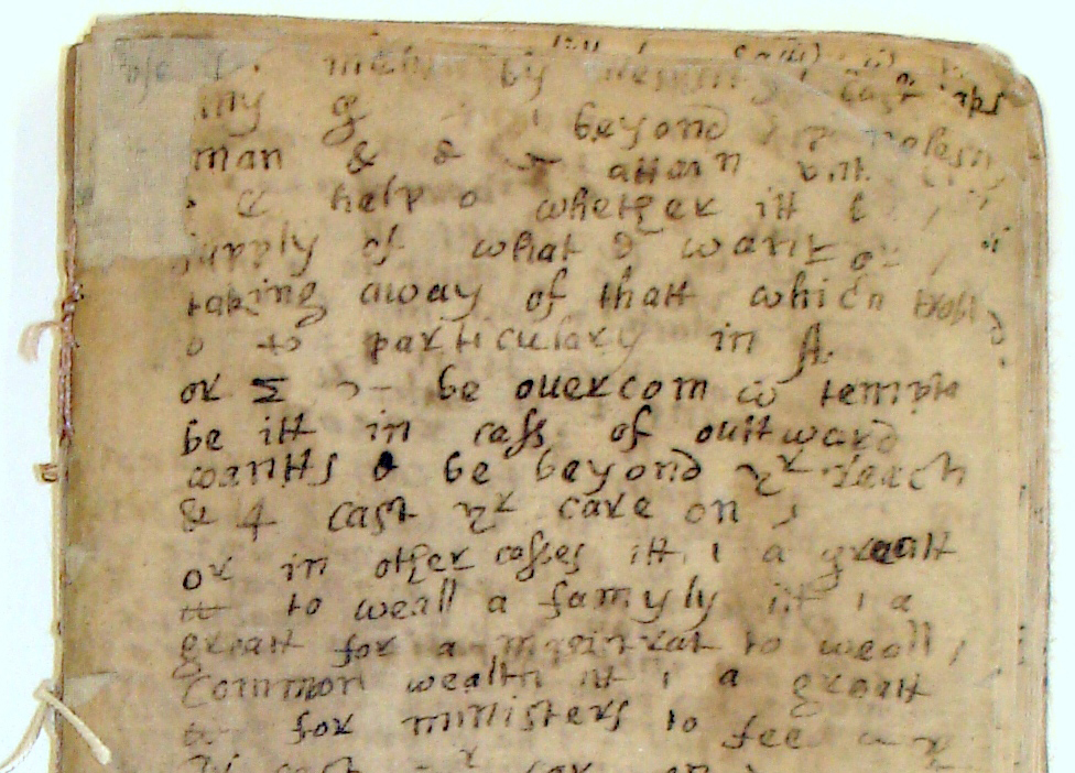 Image Of A Fragment Of A Sermon By John Pychon