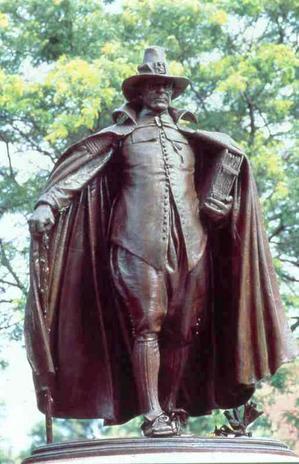 Statue Of The Puritan