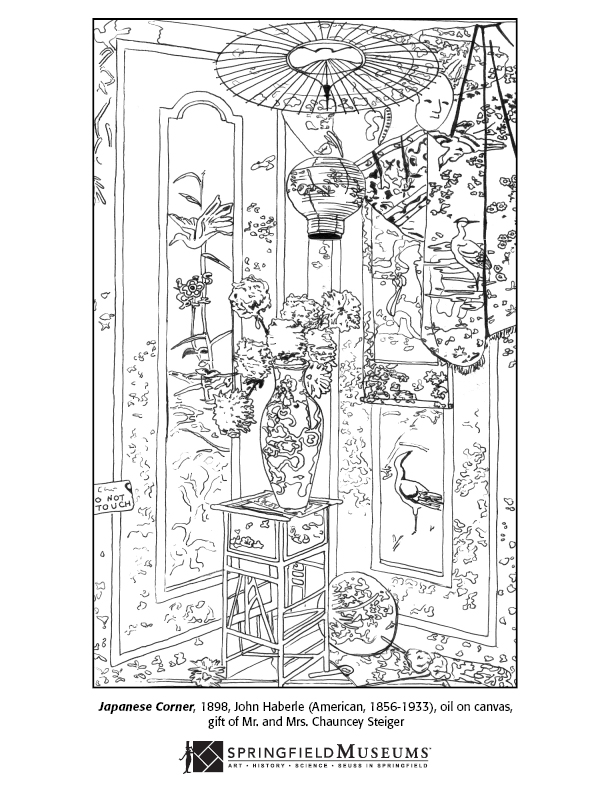 John Haberle Coloring Page