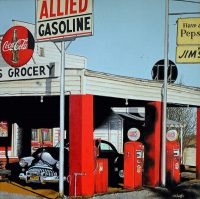 © John E. Schaeffer, Fill'er Up, 2017