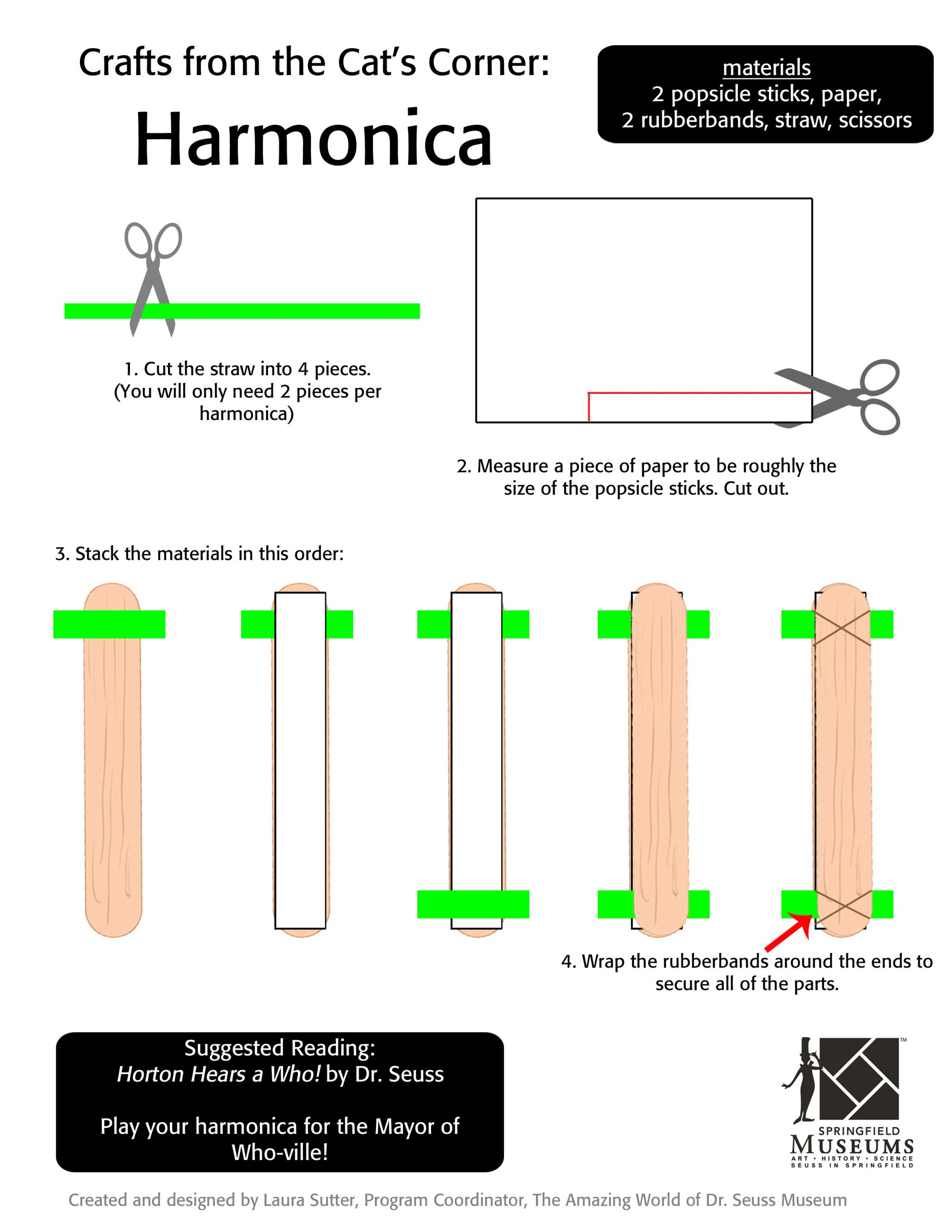 Crafts from the Cat's Corner: Harmonica