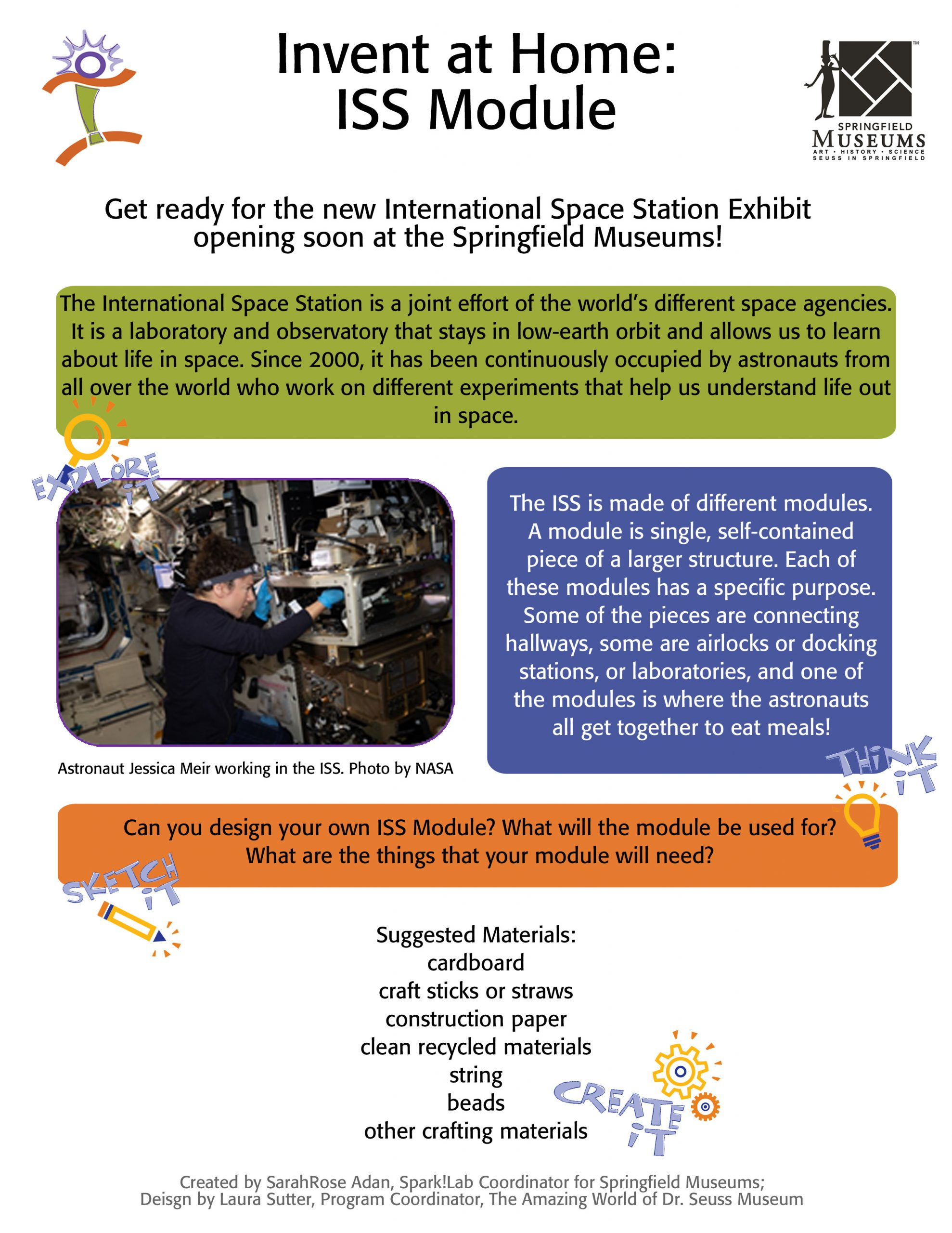 Invent at Home: ISS Module