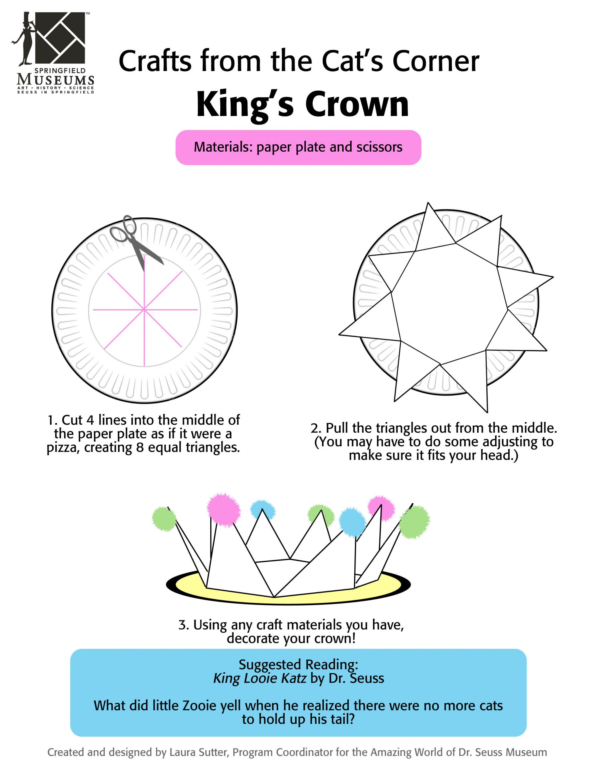Crafts from the Cat's Corner: King's Crown