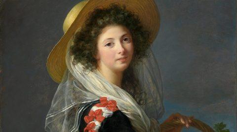 Vigee LeBrun Portrait