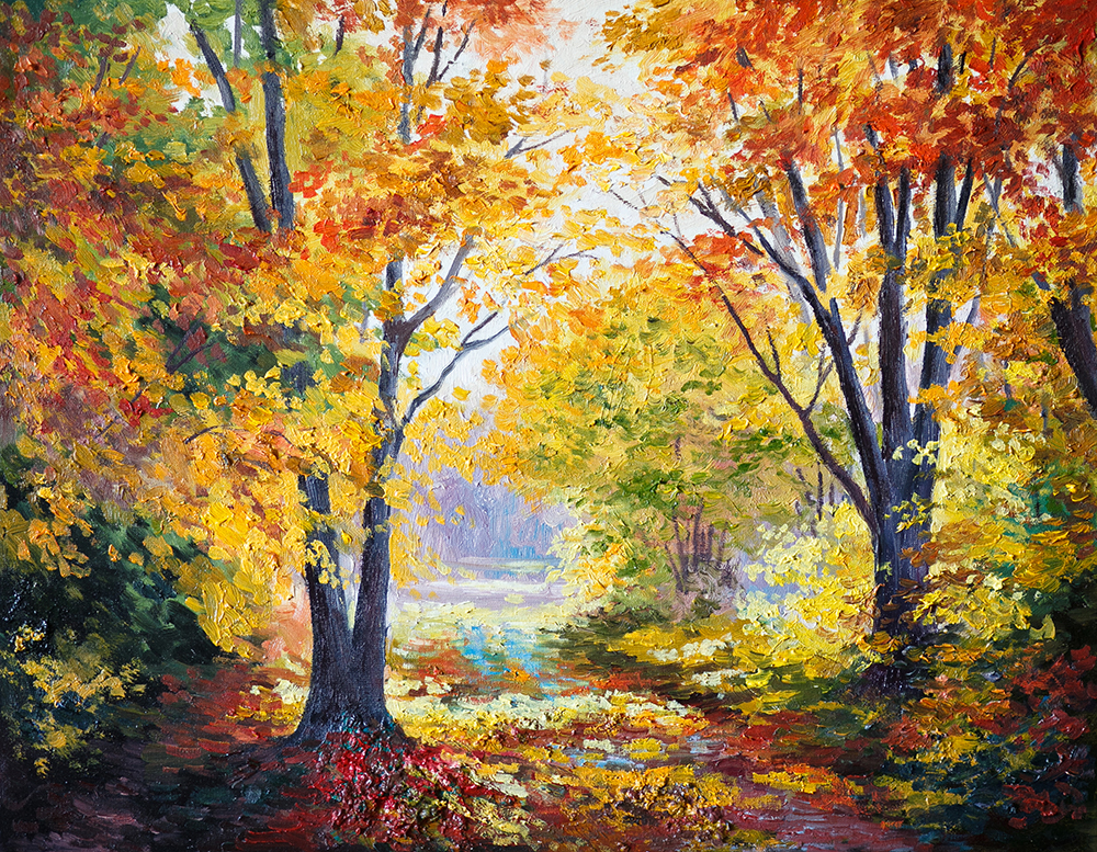 Painting Fall Landscapes