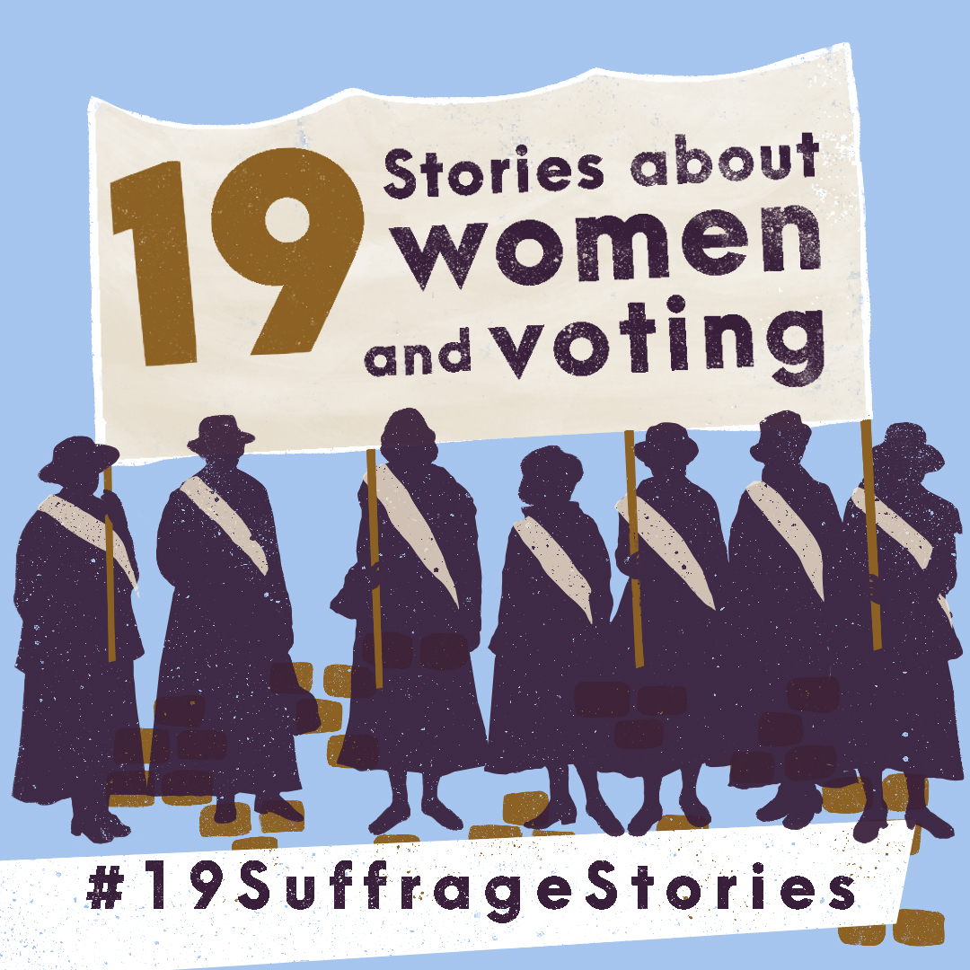 Intro Graphic Instagram 19SuffrageStories
