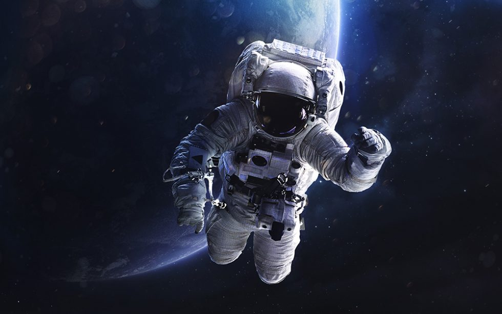 Astronaut in Space Suit