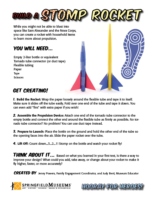 Build a Stomp Rocket