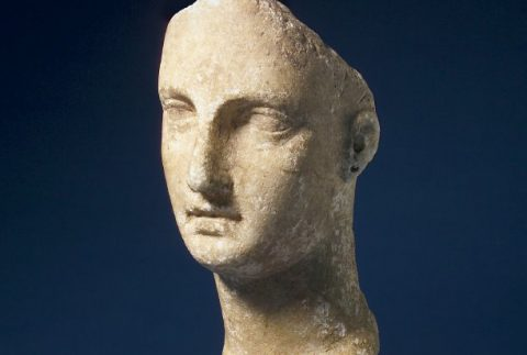Female bust sculpture from Greece