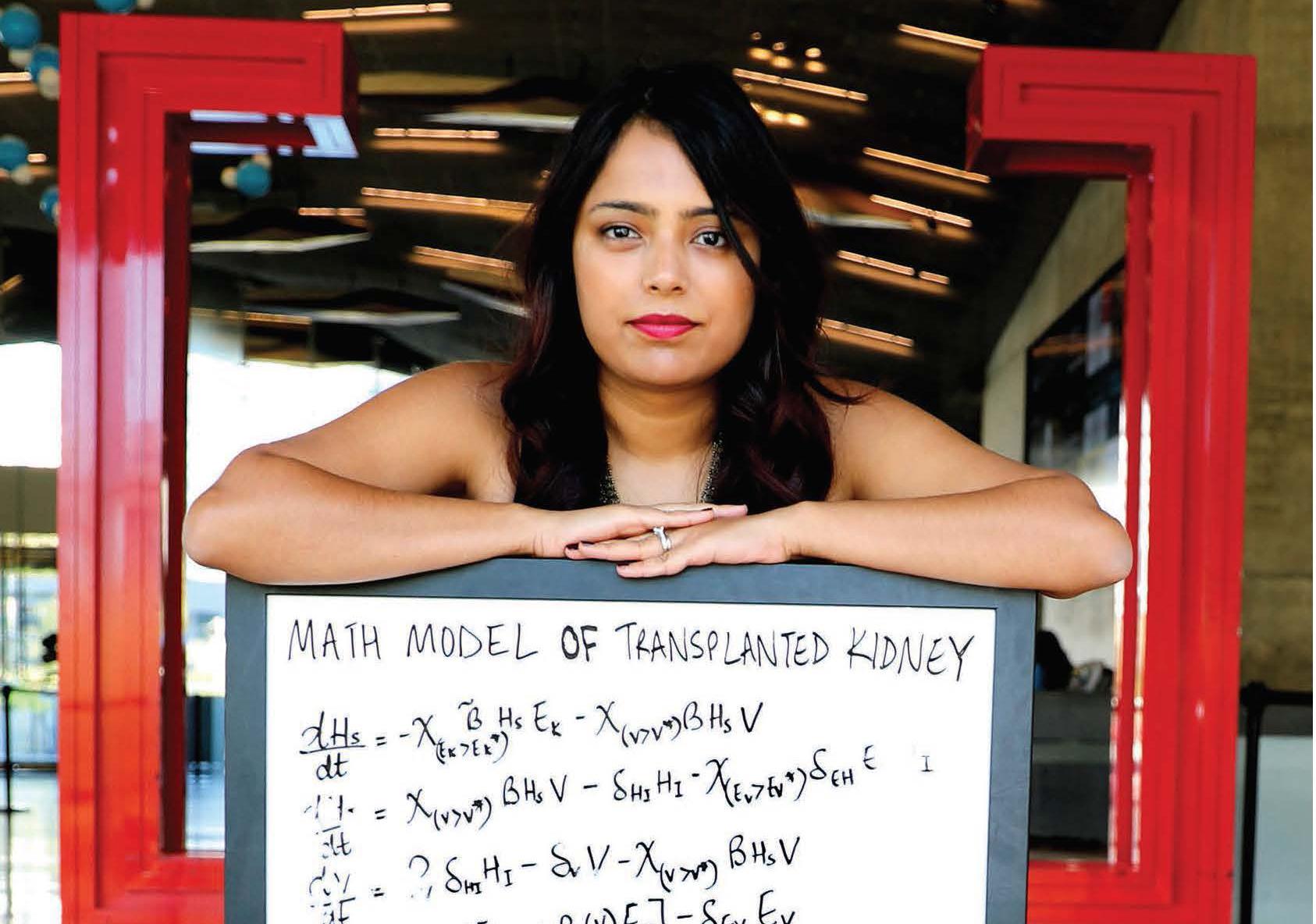 Biomathematician Neha Murad