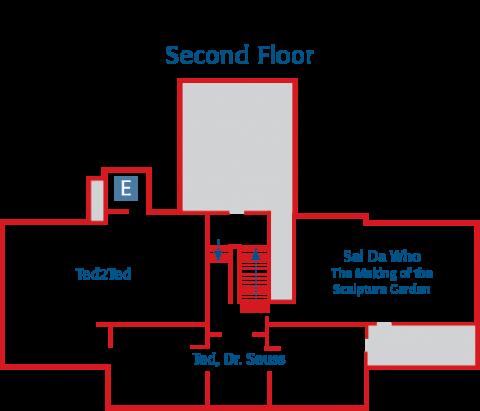 Amazing World of Dr. Seuss Museum Second Floor