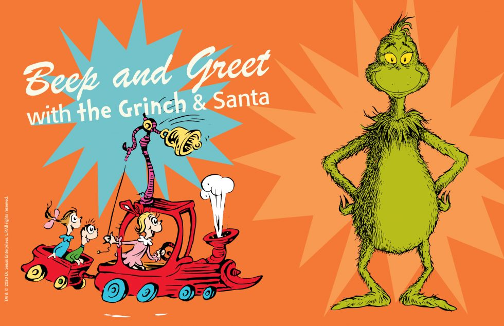 Beep and Greet with the Grinch and Santa