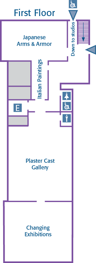 George Walter Vincent Smith Museum First Floor