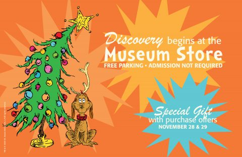 Discovery Begins at the Museum Store