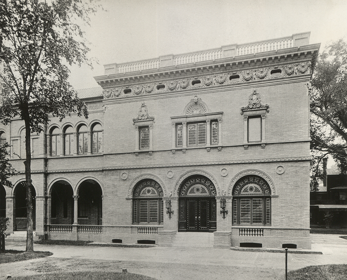 Exterior Of The George Walter Vincent Smith Art Museum, Undated
