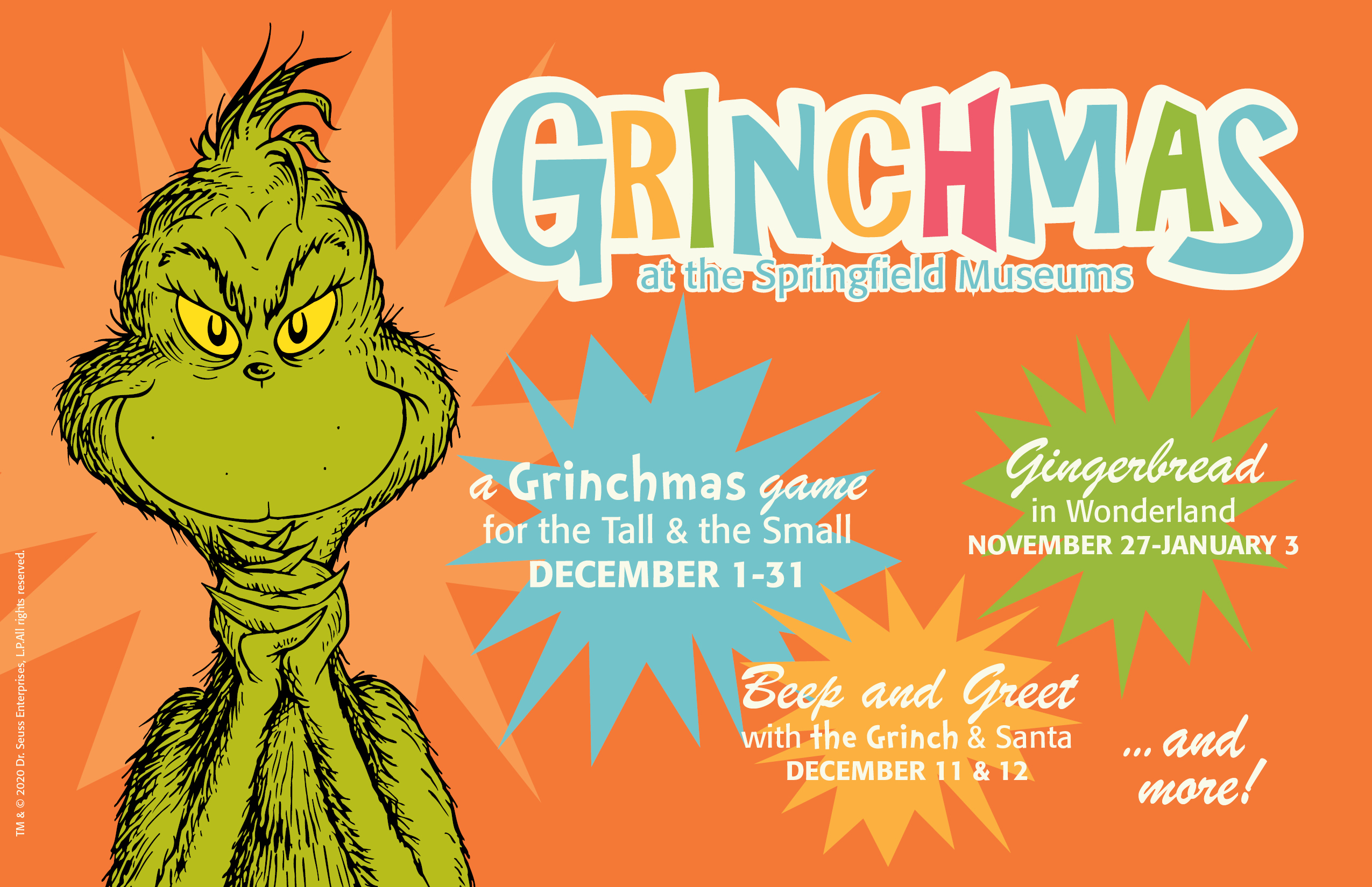 Grinchmas at the museums