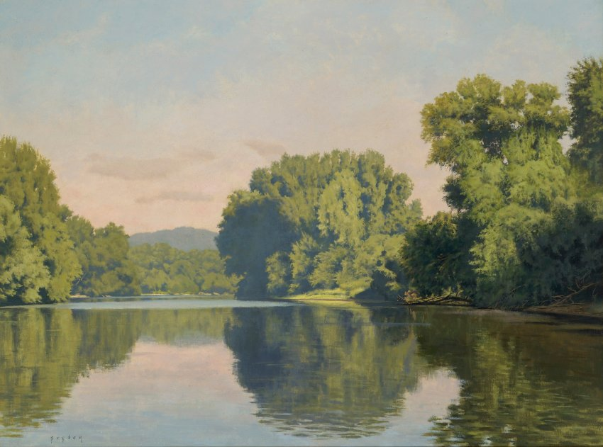 Painting of the Connecticut River