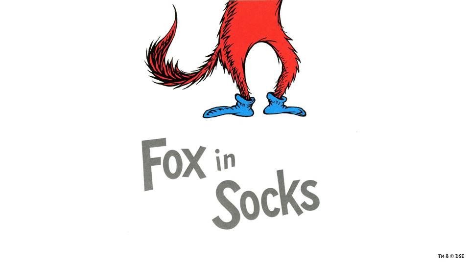 Fox In Socks Program Pack