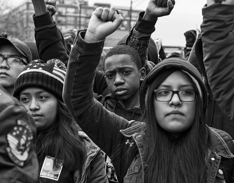 Frontline, March For Our Lives, Chicago: The Story Behind The Photograph