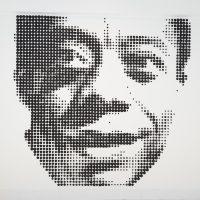 James Baldwin, 2018, by Nekisha Durrett