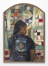 Our Lamentations: Never Forgotten Daddy, 2018, by Sedrick Huckaby