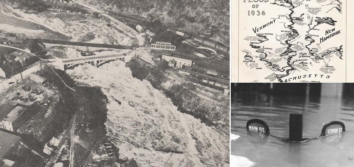 Photos from the 1936 New England Flood