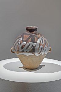 Ai Weiwei, Han Dynasty Urn with Coca Cola Logo (Silver), 2007
