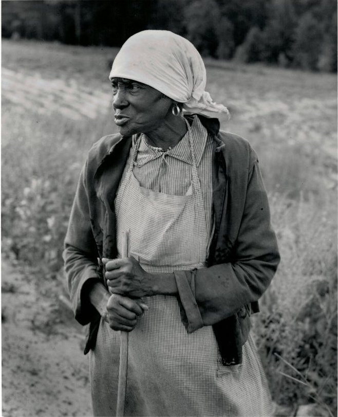 Ex-Slave with a Long Memory Alabama, 1937 by Dorothea Lange (
