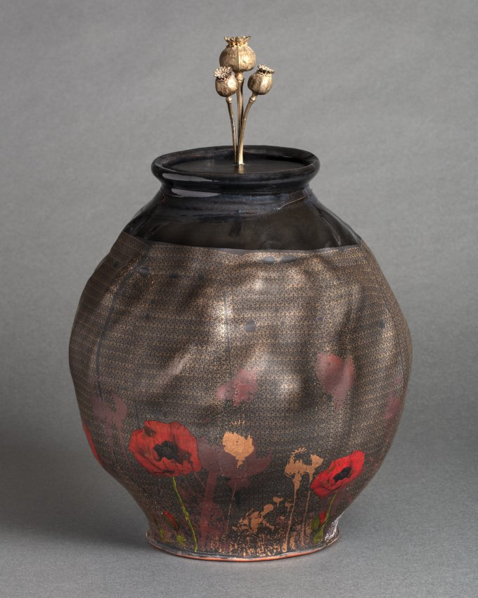 Covered Jar by Justin Rothshank