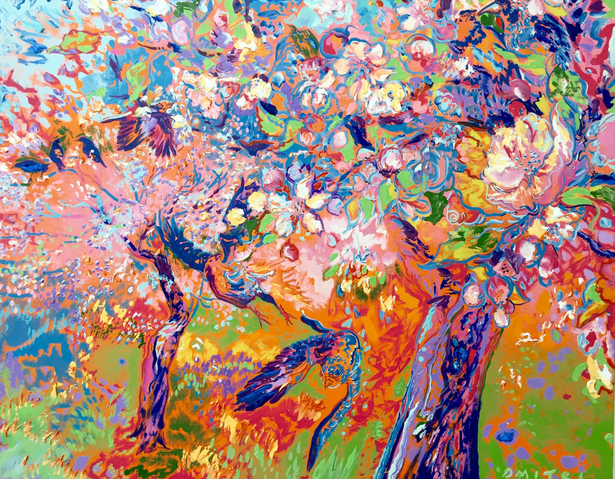 Apple Blossoms by Dmitri Wright