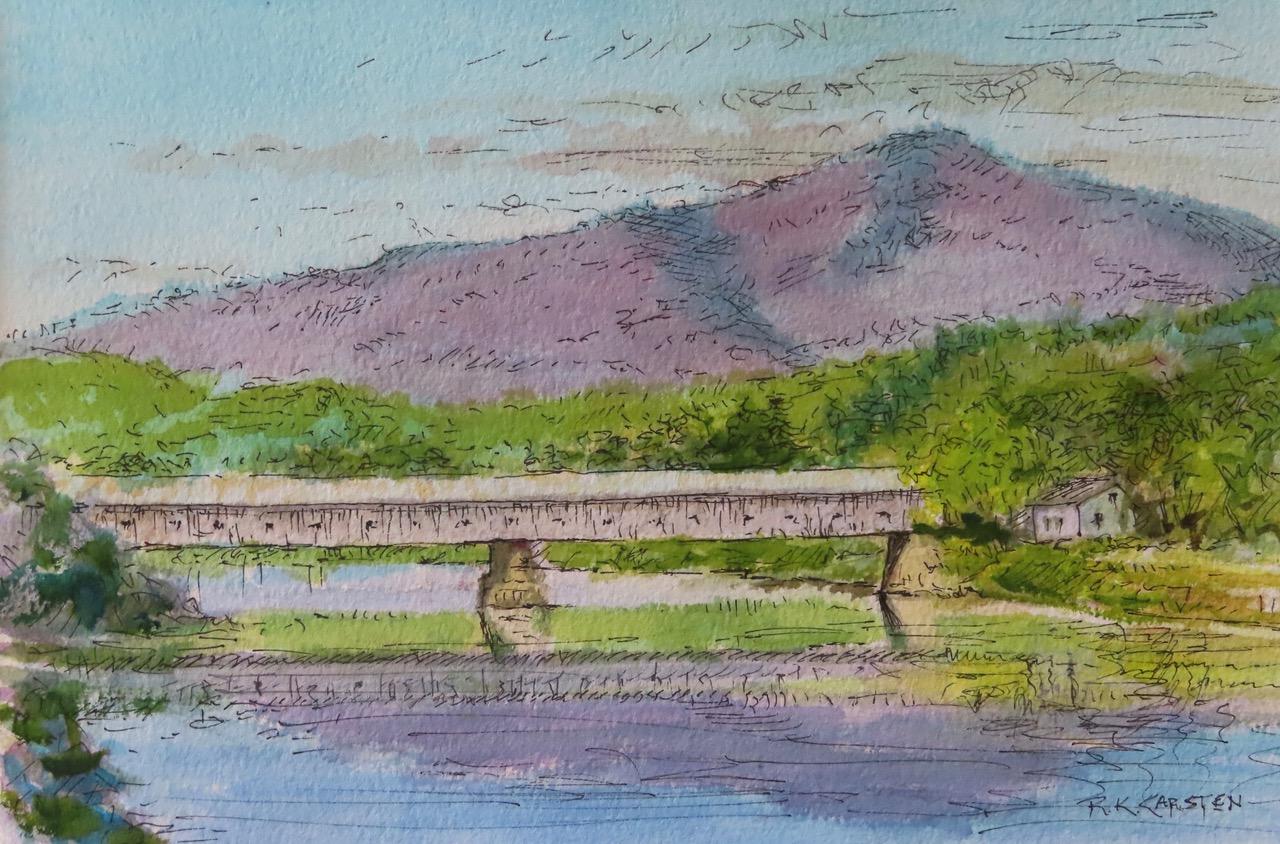 Sketch of bridge