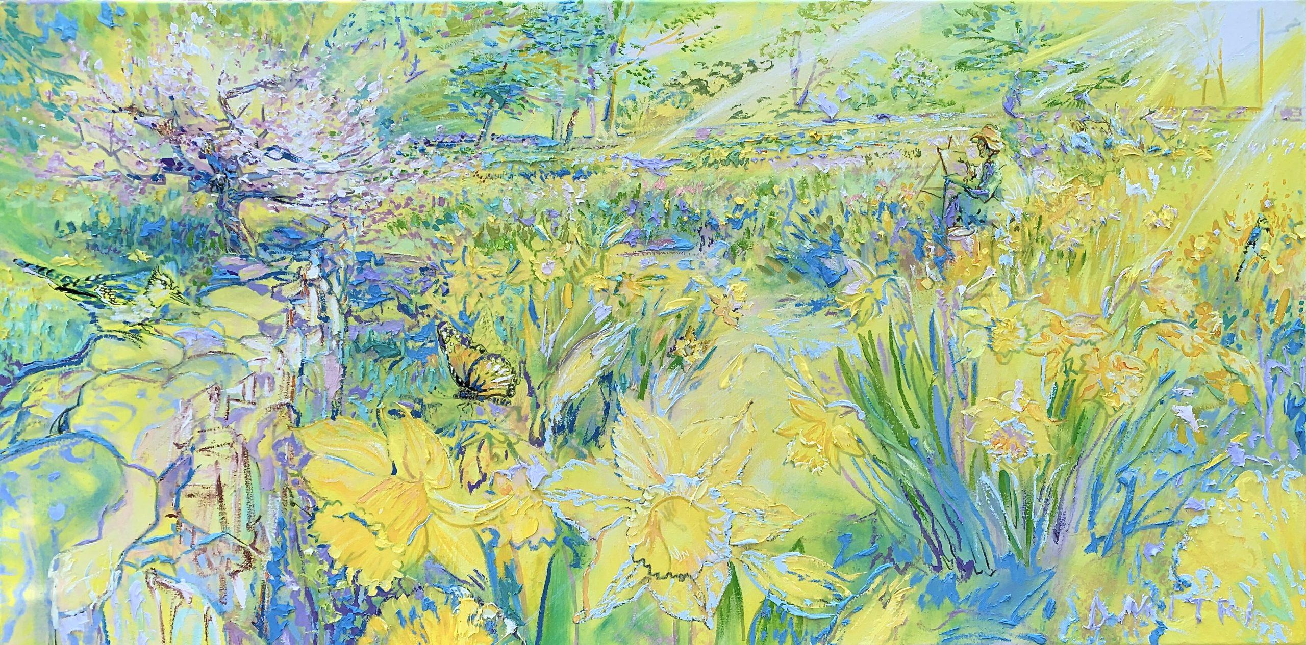 Weir Farm Daffoldil Series by Dmitri Wright