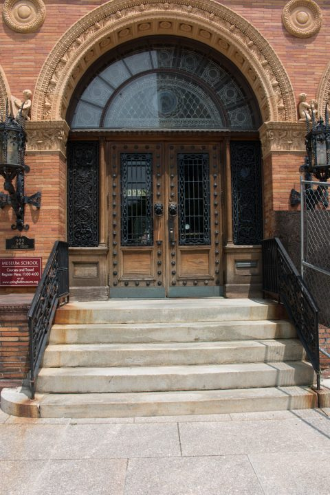 Image of front doors at George Walter Vincent Smith Museum