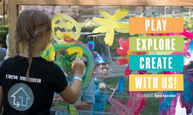 Play Explore Create with us
