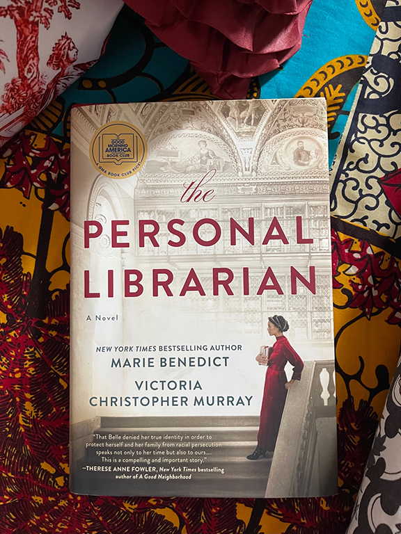 """""""The Personal Librarian"""" book cover"""